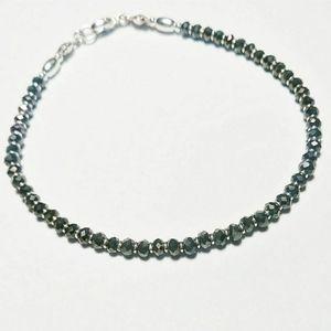 3 for $20 - Dark Brown Crystal Bracelet